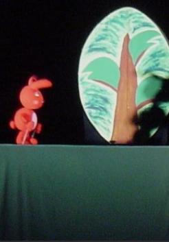 (취소) 인형극 빨간아기토끼 포스터